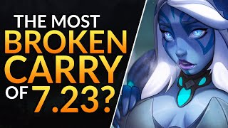 THE MOST BROKEN CARRY HERO That You MUST MASTER: Patch 7.23 Drow Ranger Tips - Dota 2 Pro Guide