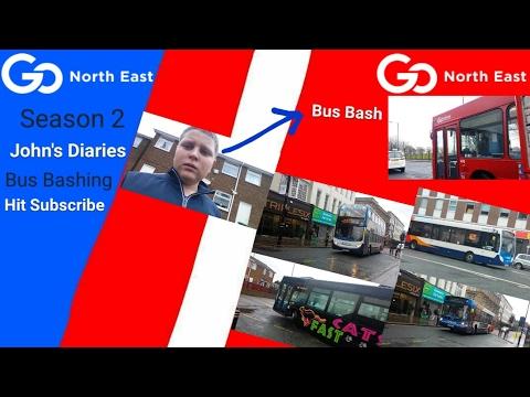 Johns diarys (Bus Bashing) season 2 episode 1