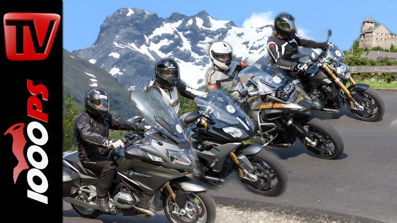 Bmw Boxer Vergleich Alpen R 1200 R R 1200 Rs R 1200 Rt