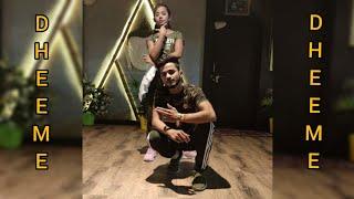 DHEEME DHEEME | DANCE 2019 | YASH CHOREOGRAPHY | ALLAHABAD DANCE CENTRE 2019