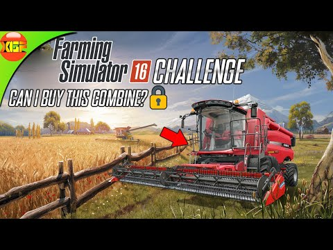 CHALLENGE! Can I buy a New Harvester in this Gameplay? Farming Simulator 16 solo gameplay fs 16 |