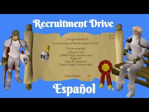 [OSRS] Recruitment Drive Quest (Español)