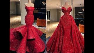 Celebs Go Crazy After These Red Sparkly Dresses [HD] Photos 2018