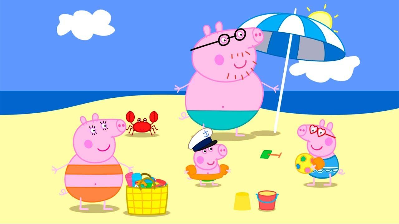 Свинка Пеппа на каникулах. Мультфильм игра для детей [1 ...