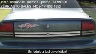 1997 Oldsmobile Cutlass Supreme SL 4dr Sedan for sale in SPR