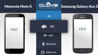Motorola Moto G VS Samsung Galaxy Ace 3