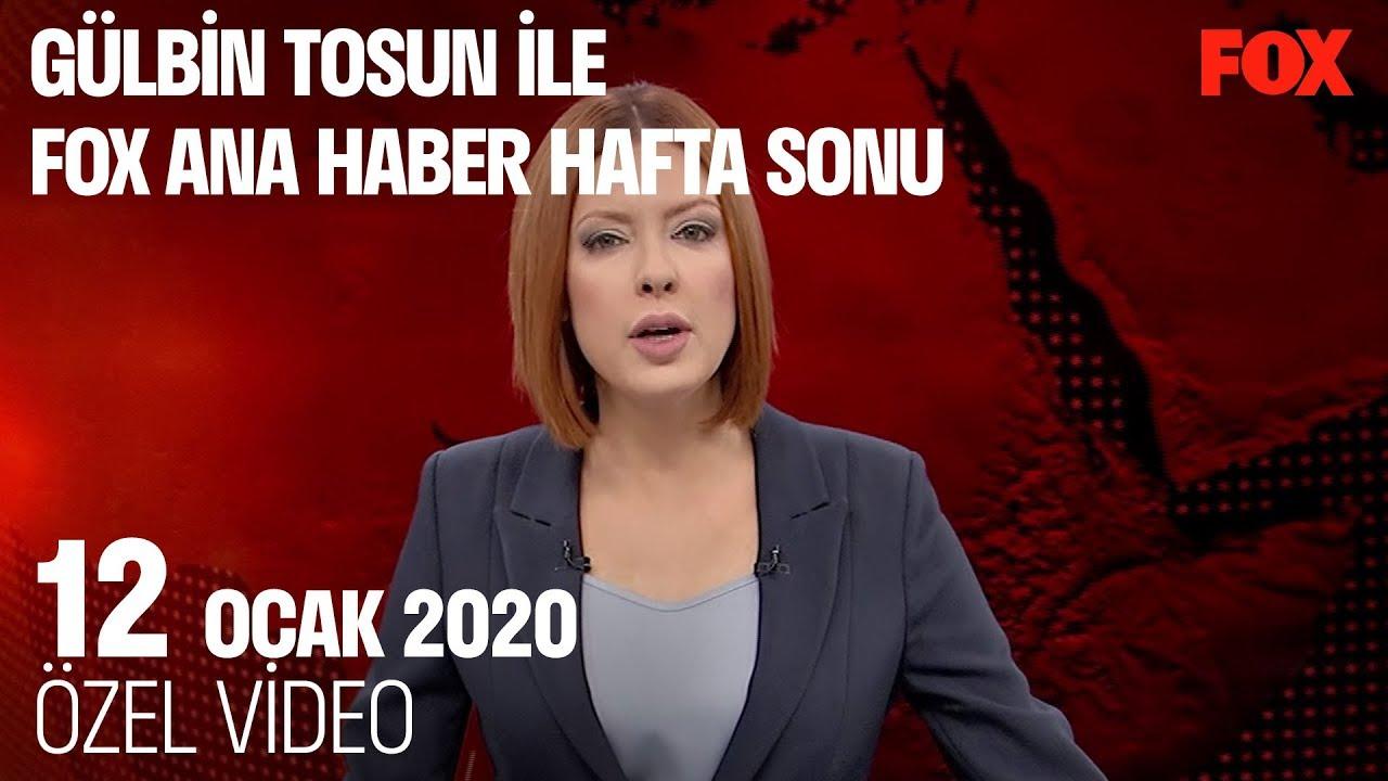 Üç eş tekrar bir arada... 12 Ocak 2020 Gülbin Tosun ile FOX Ana Haber Hafta Sonu