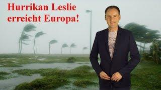 Hurrikan Leslie zieht auf Europa zu: Gefahr für Madeira und die Kanaren! (Mod.: Dominik Jung)