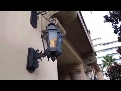 Christophe Choo shows you the Beverly Canon Gardens in Beverly Hills at the Montage Hotel.