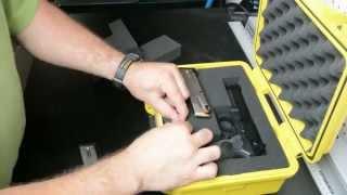 How to Pick n Pluck Pre cubed Foam , Elephant Gun case  waterproof plastic case