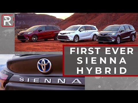 2021 Toyota Sienna Hybrid  – Redline: First Look