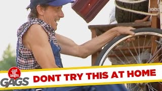 Do Not Try This at Home!  Best of Just For Laughs Gags