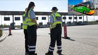 new border controls at checkpoint Germany