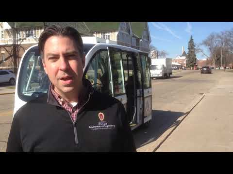 UW-Madison driverless vehicle rides