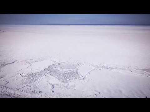 The Ocean Froze Over - Absolutely Incredible