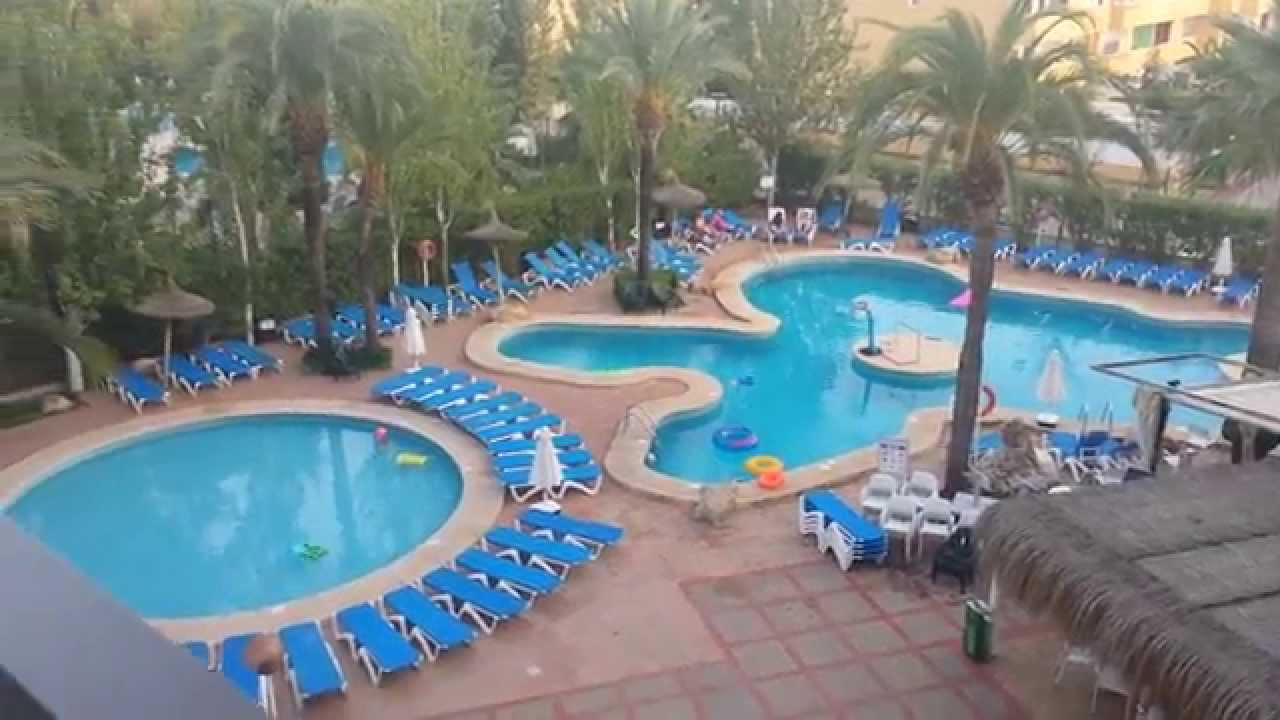Sol De Alcudia Apartments Majorca Hotel Pool Area Balcony View From Room 301 You