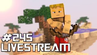 LIVESTREAM #245 MINECRAFT C/INSCRITOS