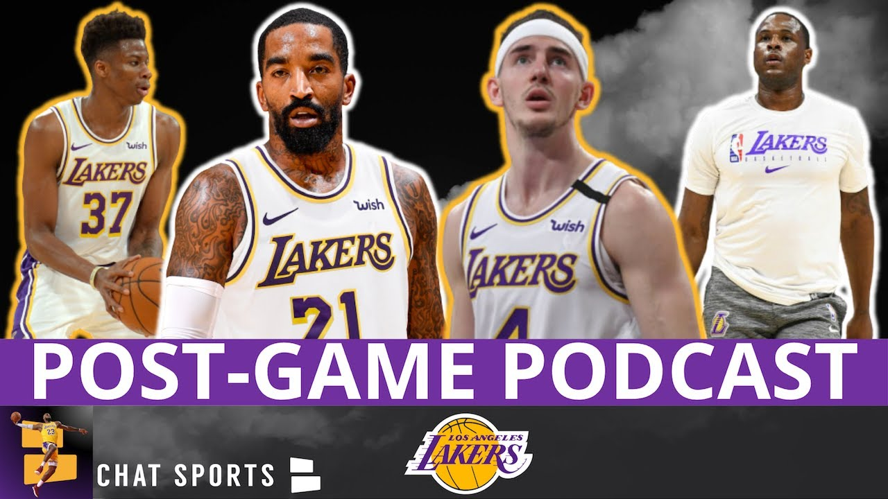 Lakers vs. Wizards Post-Game Podcast - Stats, JR Smith ...