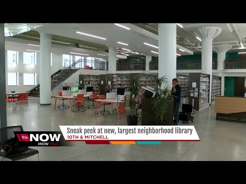 Milwaukee Public Library to open newest, largest neighborhood library