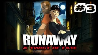 "Runaway 3: A Twist of Fate (PC) Walkthrough ITA #3 - ""L' ARTE DELLA FUGA"""