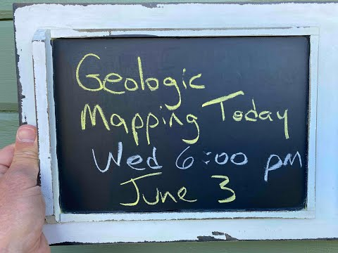 'Nick From Home' Livestream #57 - Geologic Mapping Today