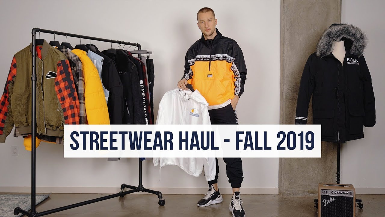 [VIDEO] - My Favorite Streetwear Pieces in Stores RIGHT NOW | Streetwear Haul Fall 2019 | Men's Fashion 4