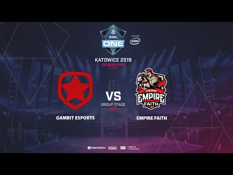 Team Empire Faith vs Gambit Esports vod