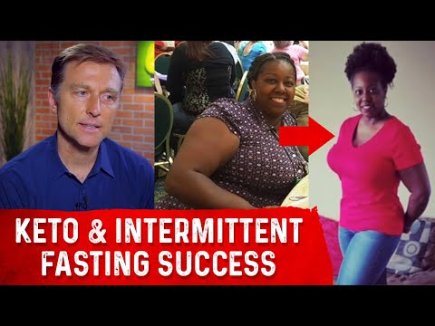 Before & After Keto - Intermittent Fasting with Dr. Berg & Michelle Spiva