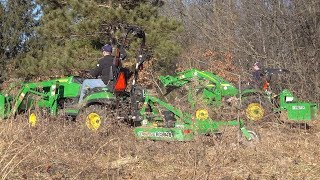 backhoe-thumb-front-hoe-bucket-group-project-with-3-john-deere-1025rs-3046r