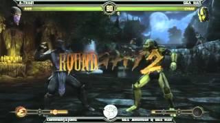 MK9 casuals, A-Train (Rain) vs GGA HAN (Cyrax)