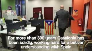 An Interpretive Dance For Spain - Independence of Catalonia Version