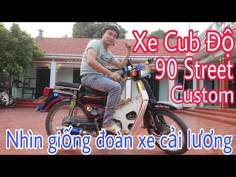 Xe Cub Độ Đẹp -  Super Cub 82 Độ Cực Chất Có 102 ( Moto Vlog Review )