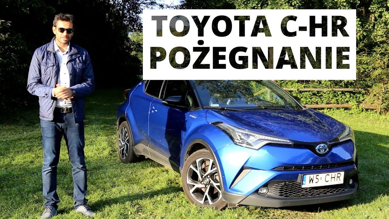 Toyota C-HR 1.8 Hybrid 122 KM – podsumowanie testu długodystansowego
