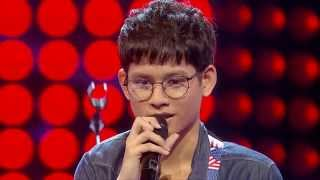 The Voice Thailand - กอล์ฟ กิตติภพ - Lost Stars - 14 Sep 2014