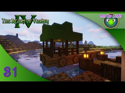 River Barge and Portobello Warehouse ♥ Ep. 31 ♥ Realm of Vasten Minecraft Lets Play