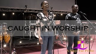 Rachael & AJ - I Surrender All (Spontaneous Worship) | Caught In Worship