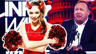 Alex Jones On Dating Satanic Cheerleaders