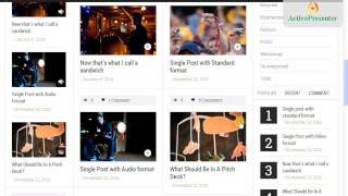 How to set up The News Time Magazine WordPress Theme ?