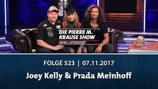 Die Pierre M. Krause Show vom 07.11.2017 mit Joey Kelly & Prada Meinhoff