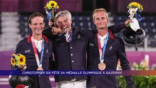 Yvelines | Christopher Six fête sa médaille olympique à Gazeran