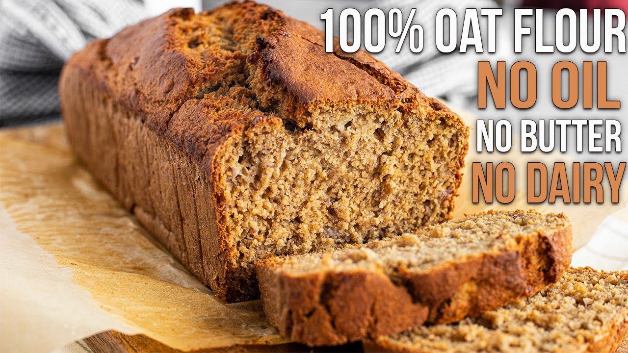 Download Healthy Banana Bread (OAT FLOUR)