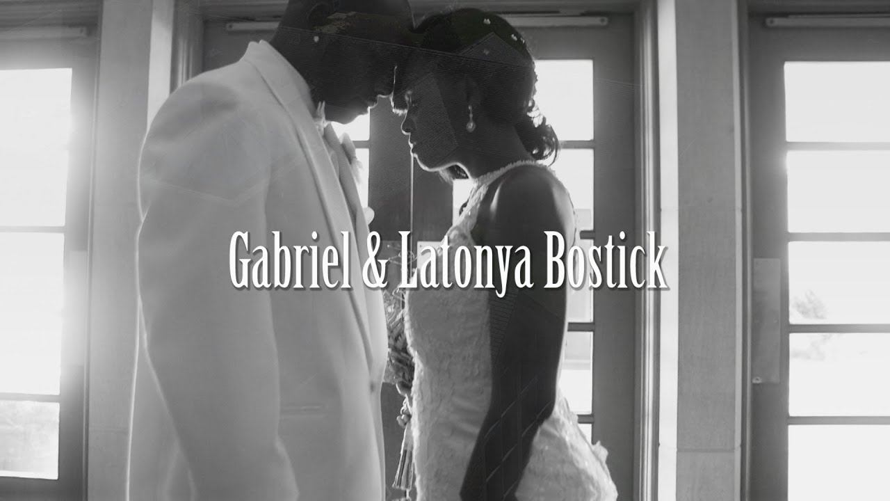 Gabriel & Latonya Bostick Wedding Day - Couple Of Forevers
