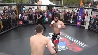 UFC   Uzbek Rusni Yorvordi aptini 😂Daxshat