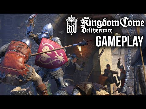 KINGDOM COME DELIVERANCE Gameplay Walkthrough & First Impressions