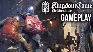 KINGDOM COME DELIVERANCE Gameplay Walkthrough & First Impressions