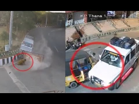 Terrible Accidents Caught on CCTV Cam | Live Accidents in India | Tirupati Traffic Police