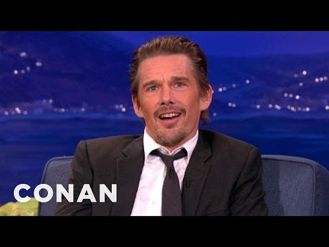 "Ethan Hawke Dropped Out Of College For ""Dead Poets Society"""