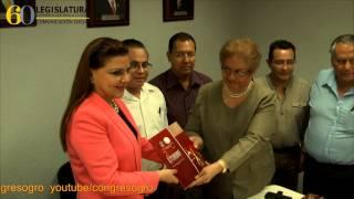 Recibe Congreso de Guerrero informe del TSJ del Estado de Guerrero