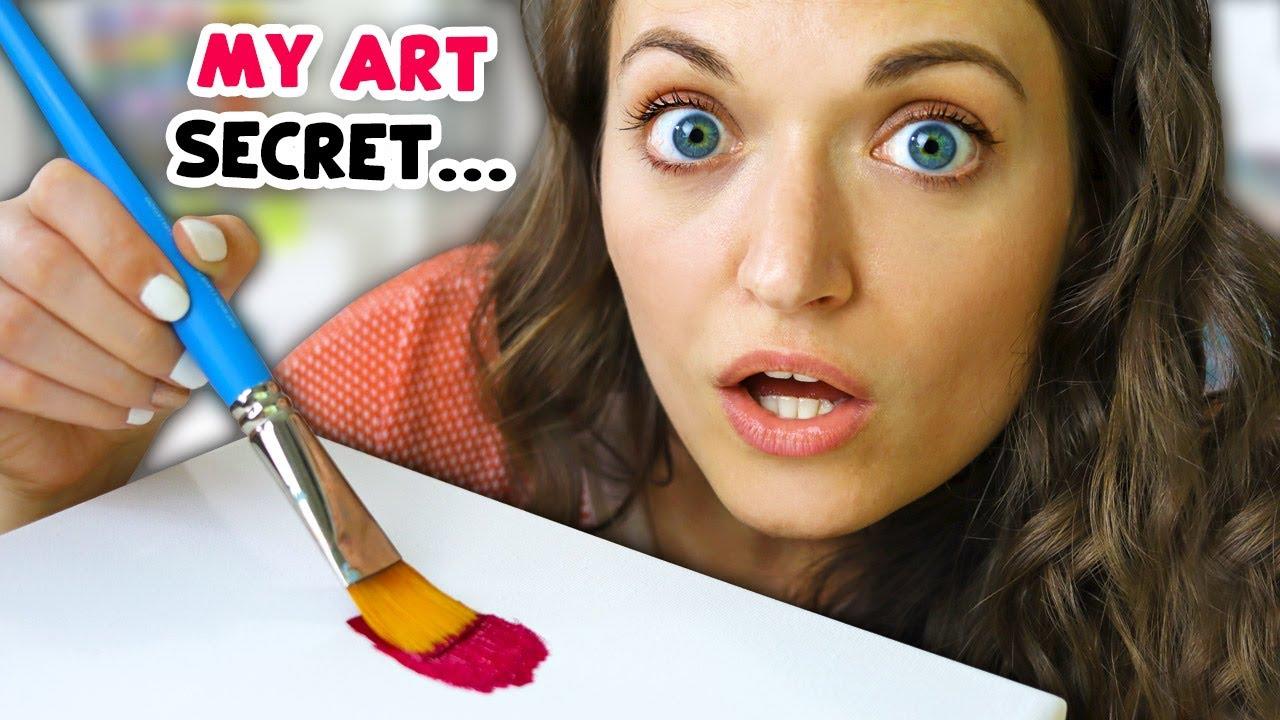 Revealing my Secret Painting Series... (LOTS of Art)