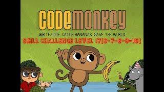 Code Monkey Skill Challenge Level #17-6#17-7#17-8#17-9 #17-10# 2018